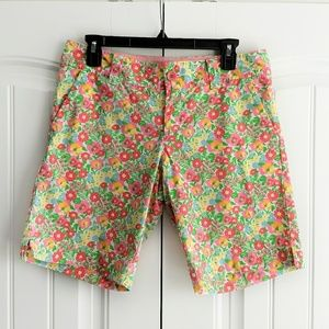 Lilly Pulitzer Chipper Bermuda Shorts Ants Pink